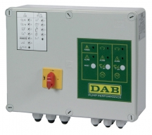 Шкаф упавления и защиты E-Box 2D M/T 12 Amper (for 2 single or three phase pumps)